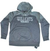 Northwestern Wildcats Under Armour Grey Loose Performance Hoodie Sweatshirt