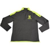 Northwestern Wildcats Under Armour Grey Quarter-Zip Performance Pullover
