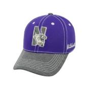 Northwestern Wildcats TOW Purple High Post Two-Tone Memory FLEXFIT Hat Cap