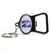 Northwestern Wildcats Key Chain Bottle Opener - Chrome