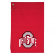 Ohio State Buckeyes WinCraft Red Golf Sports Towel with Grommet