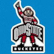 Ohio State Buckeyes 22cm X 15cm Magnet - Brutus #1