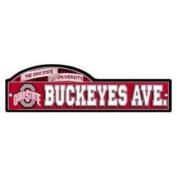 Ohio State Buckeyes University Street Zone Sign