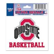 Ohio State Buckeyes Decal 7.6cm X 10cm - Basketball