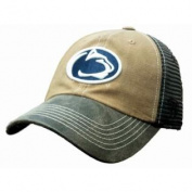 Penn State Nittany Lions TOW Brown Two Tone Incog Adj Snapback Mesh Hat Cap