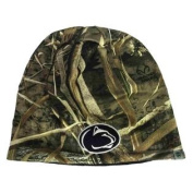Penn State Nittany Lions TOW Realtree Max5 Navy Seasons Reverse Beanie Hat Cap