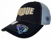 Purdue Boilermakers TOW Black Putty Two Tone Mesh One Fit Flexfit Hat Cap