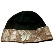 Wisconsin Badgers TOW Black RealTree Camo Cuffed Fleece Beanie Hat Cap