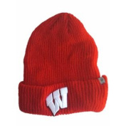 Wisconsin Badgers TOW YOUTH Red Classic Cuffed Knit Beanie Hat Cap
