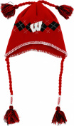 Wisconsin Badgers Tassle Gyle Knit Hat
