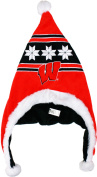 Wisconsin Badgers 2012 Snowflake Dangle Hat