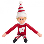 NCAA University of Wisconsin Badgers Team Elf