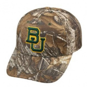 Baylor Bears TOW Camo Realtree Xtra Memory Foam Flexfit Hat Cap