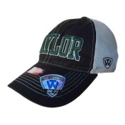 Baylor Bears TOW Black Putty Two Tone Mesh One Fit Flexfit Hat Cap
