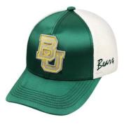 Baylor Bears TOW Women Green White Satina Mesh Adjustable Strap Hat Cap