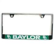 Baylor Bears Metal Licence Plate Frame w/Domed Insert