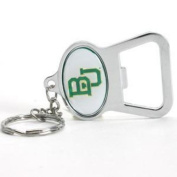 Baylor Bears Metal Key Chain And Bottle Opener W/domed Insert