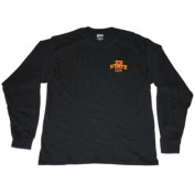 Iowa State Cyclones Gear for Sports Black Back Logo Long Sleeve T-Shirt