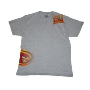 Iowa State Cyclones Gear for Sports Ash Grey Variety Logo Cotton T-Shirt
