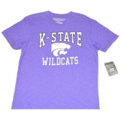 Kansas State Wildcats Colosseum Athletics Faded Soft Cotton Purple T-Shirt