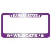 Kansas State Wildcats Full Colour Metal Licence Plate Frame