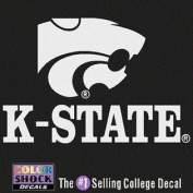 Kansas State Wildcats Decal - Mascot Over K-state
