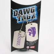 Kansas State Dawg Tagz - Military Style Dog Tags