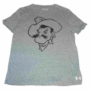 Oklahoma State Cowboys UA Women Grey Crew Neck Triblend T-Shirt