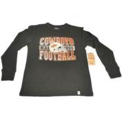 Oklahoma State Cowboys Football 47 Brand Youth Longsleeve Black T-Shirt