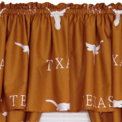 NCAA Texas Longhorns Collegiate 5pc Long Drapes-Valance Set