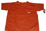 Texas Longhorns gelSCRUBS Mens Shirt/Pants Combo Embroidered Logo Orange