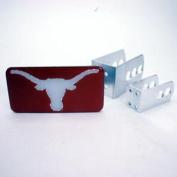 Texas Longhorns Universal Hitch Receiver W/domed Emblem - Orange Background