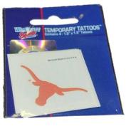 Texas Longhorns WinCraft Gameday Orange Temporary Tattoo 4-Pack