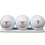 Texas Longhorns - 3 Golf Balls