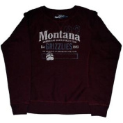 Montana Grizzlies Men's NCAA Sweatshirt Maroon