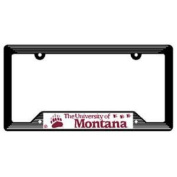 Montana Grizzlies Plastic Licence Plate Frame