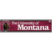 Montana Grizzlies Bumper Sticker