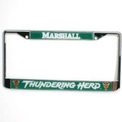Marshall Metal Licence Plate Frame W/domed Insert