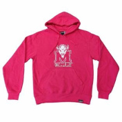 Marshall Thundering Herd WOMEN Pink LS Hoodie Sweatshirt