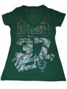 Marshall Thundering Herd Women's Short Sleeve Shirt