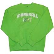 Marshall Thundering Herd Women Lime Green Sweatshirt
