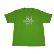 Marshall Thundering Herd Lime Green 1837 Cotton T-Shirt