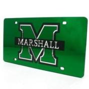Marshall Inlaid Acrylic Licence Plate - Green