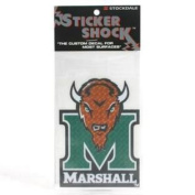 """Marshall High Performance Decal - """"M"""" With Head"""