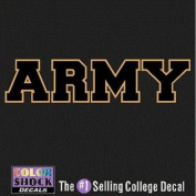 Army Black Knights Decal - Block Army