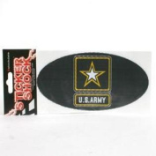 Army Black Knights High Performance Decal - Oval
