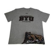 BYU Cougars Grey HeatGear Performance T-Shirt