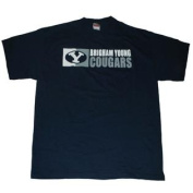 BYU Cougars Navy Cotton T-Shirt