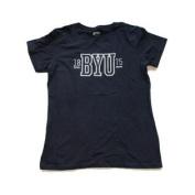 BYU Cougars Navy White Grey 1875 Short Sleeve T-Shirt