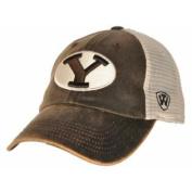 BYU Cougars Brown Scat Mesh Adjustable Snapback Hat Cap